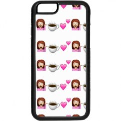 White Girl Phone Case