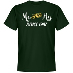 Mr & Mrs since 1987