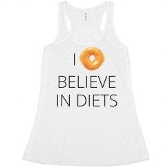 Donut Believe in Diets