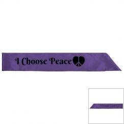 I Choose Peace/Love