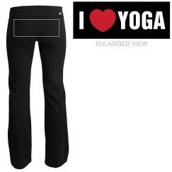 I Love Yoga Pant