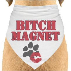 Bitch Magnet dog bandana