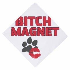 Bitch Magnet dog bandana