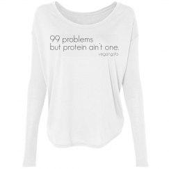 99 problems long rib sleeve
