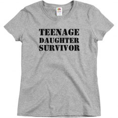 Teenage daughter survivor