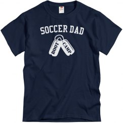 Soccer dad boot camp