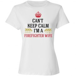 FIREFIGHTER WIFE Tshirt1