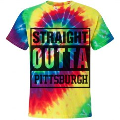 Straight out of Pittsburgh hip-hop tee