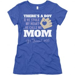 Baseball Mom's Heart