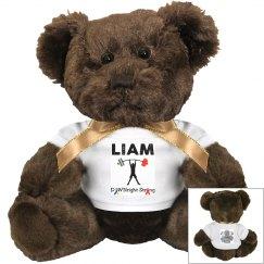 Liam's Small Teddy Bear