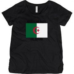Algerian baby on board