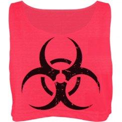 Distressed Biohazard Top