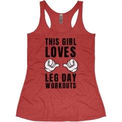 This Girl Loves Leg Day Tank