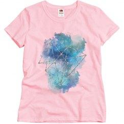 Geometric Watercolor Splash