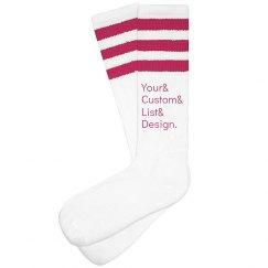 Custom Ampersand Socks