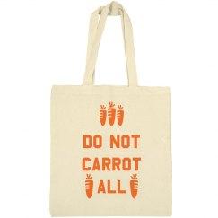 Do Not Carrot Easter Bag