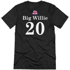 Big Willie UK Couple Tee
