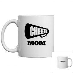 Cheer mom coffee mug