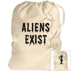 Aliens Exist Laundry Bag