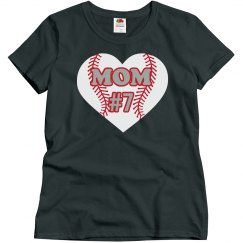 Mom Heart Tee