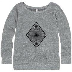 maze diamond sweater