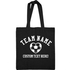 Custom Name Soccer Mom Bag