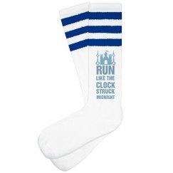 Run Like It's Midnight Socks