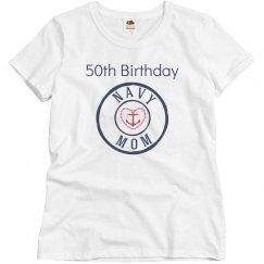 Navy mom 50th birthday