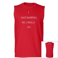Men's Hate Burpees Tank
