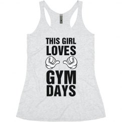 This Girl Loves Gym Days Tank
