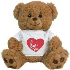 Valentine's Day Love You Bear