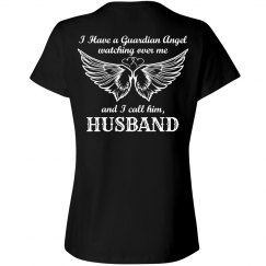 Husband my guardian angel