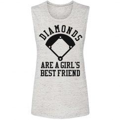Diamonds Are A Girls Best Friend Trendy Shirt