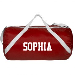 Sophia sports roll bag