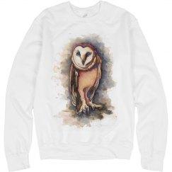 owl fashion sweater