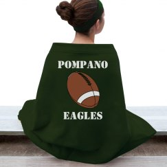 Pompano Eagles Blanket