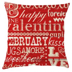 Valentines Pillow Cover