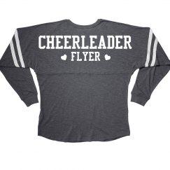 Cheerleader Flyer Cheer Girl Squad