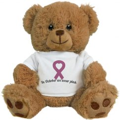 Breast cancer bear