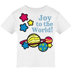 Joy to the world kids tee