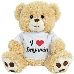 I love Benjamin