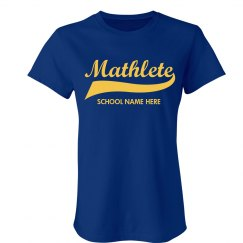 Mathlete School Colors