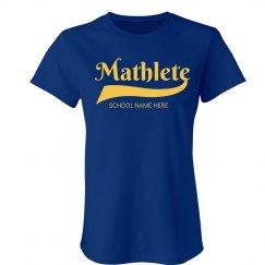 Mathlete School Colors