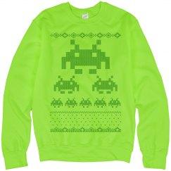 Digital Monsters Sweater