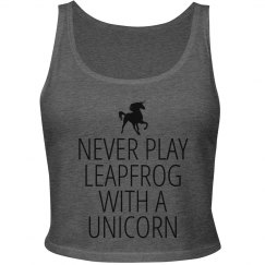 Leapfrog with a Unicorn