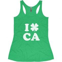 I Love St Patricks in California