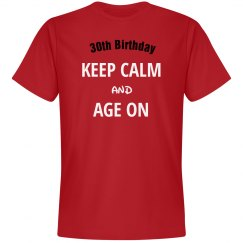 Keep calm and age on