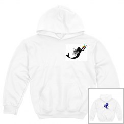 Autism Awareness Mermaid Hoodie Youth