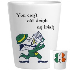 Irish Shot Glass.