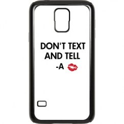 dont text and tell